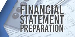 Financial Statement Preparation Graphic