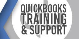 QuickBooks Training & Support Graphic