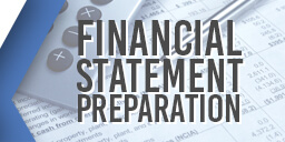 Financial Statement Preparation Graphic