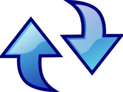 Rotating Arrows Feedback Icon
